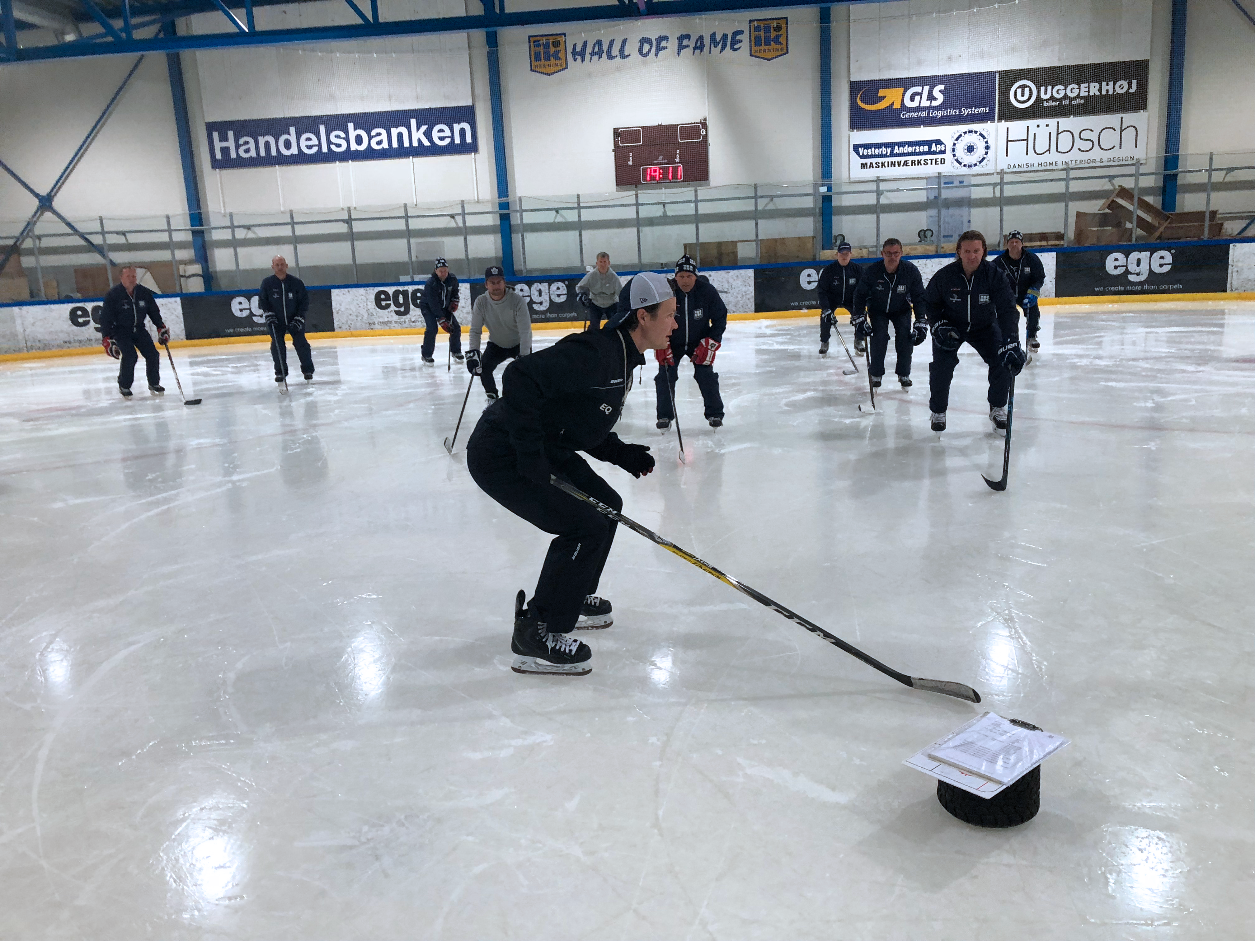 Eetu Qvist and Pro Prospect Coach Clinic in Herning