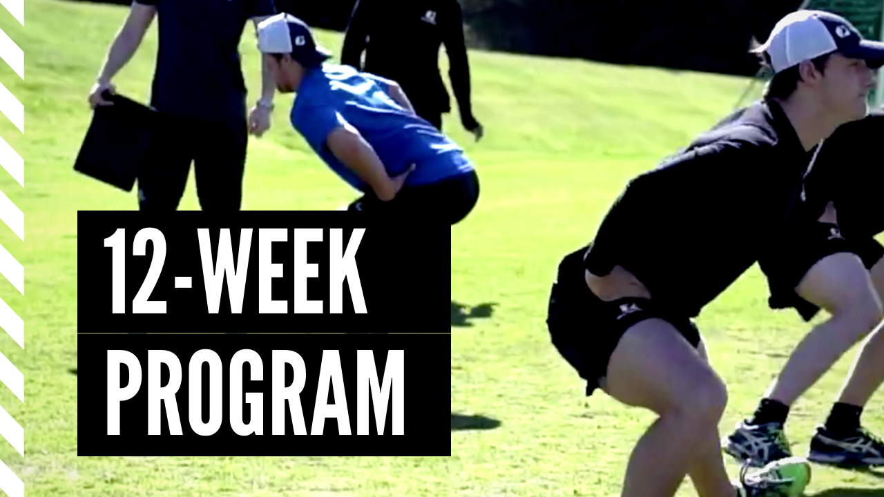 12-week summer training program for young ice hockey players