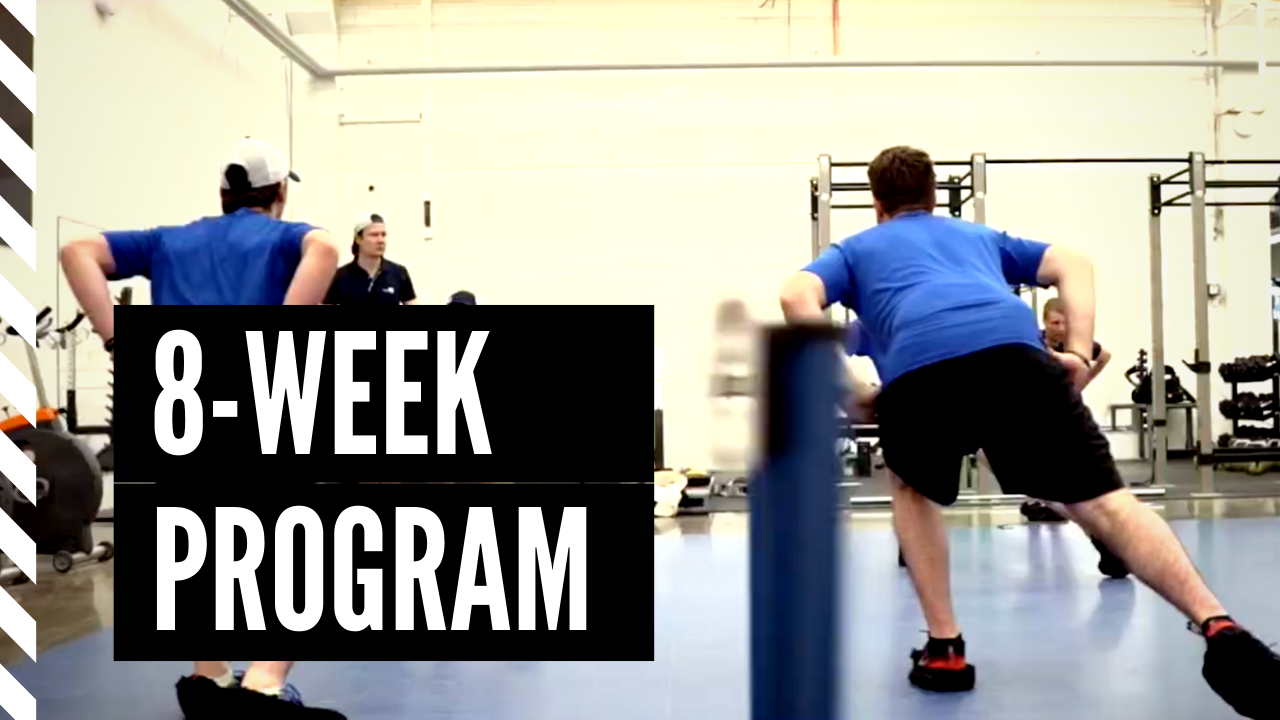 Pro Prospect's 8-week off-ice summer training program for young ice hockey players
