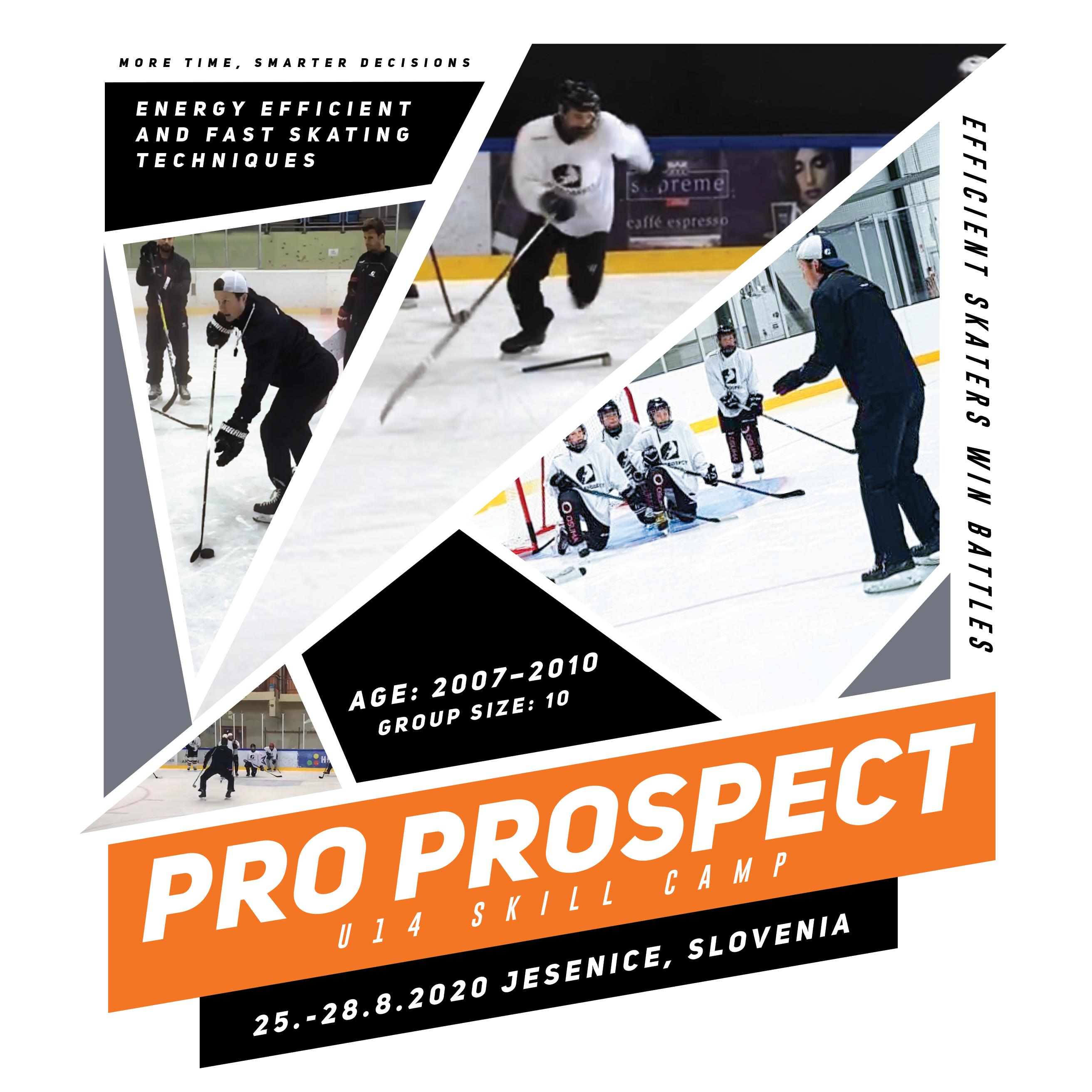 Ice Hockey Skating Skill Camp for U13 players in Jesenice, Slovenia