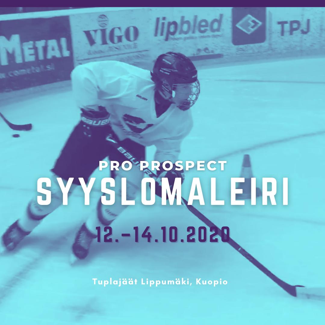 Jääkiekon luistelutekniikan syyslomaleiri Kuopiossa