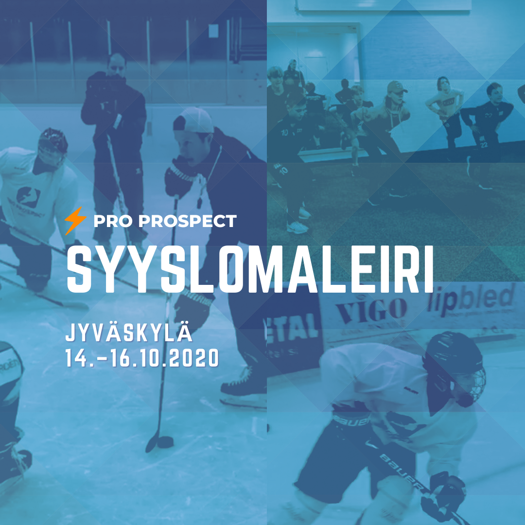 Jääkiekon syyslomaleiri Jyväskylässä juniorikiekkoilijioille