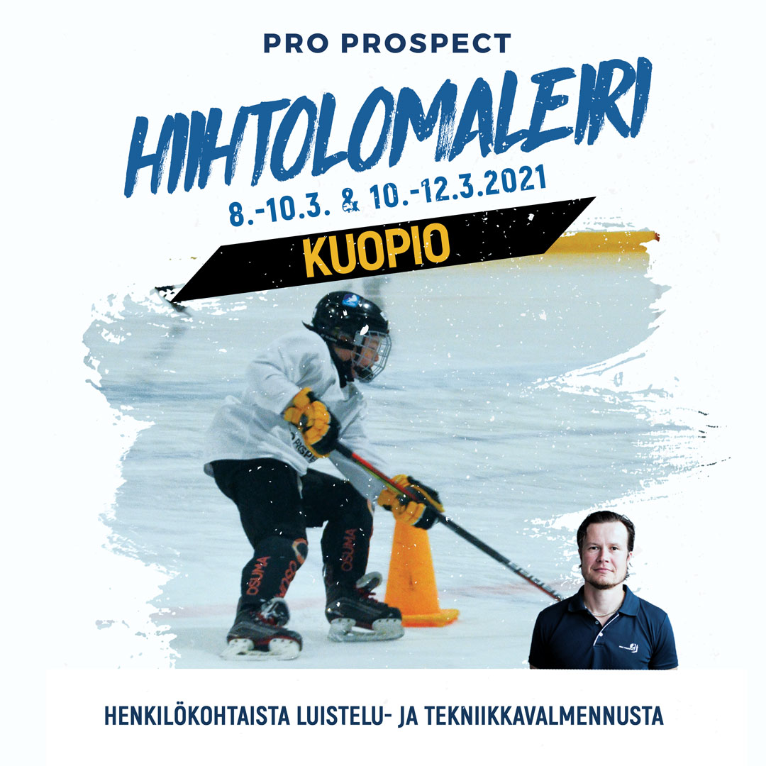 Jääkiekon hiihtolomaleiri Kuopiossa